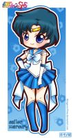 Sailor Moon Super S - Sailor Mercury by Akage-no-Hime