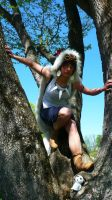Mononoke hime - In the woods by MikiyoOo