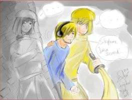 (First time using tablet) Pewdie w/ Stephano by hujikari