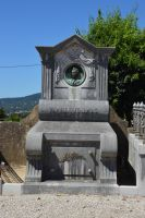 Grave and portrait statue in Provence by A1Z2E3R