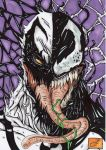 anti venom vs venom colour by darkartistdomain