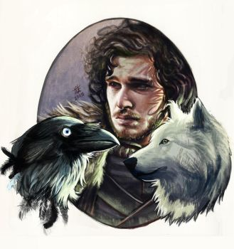 Jon Snow by GrayAppleWantsHerBB