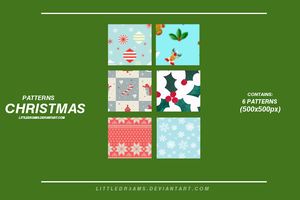 XMAS PATTERNS by LittleDr3ams