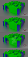 Color Cubes Examples - Quick Wip by FTMPro