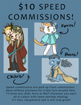 Speed Commission Sheet - Open until September 15th by caycowa