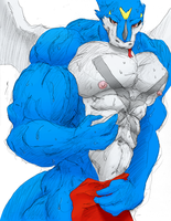 Colored Max-Exveemon (Remake) by Bulgefan
