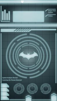 BatComputer Lock Screen for iPhone 6S by TimelessUnknown