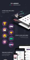The Bebop Convention PSD Template by odindesign