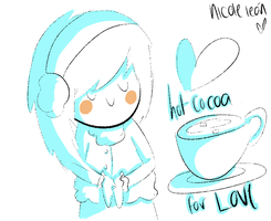 Hot Cocoa Sketch by suyre