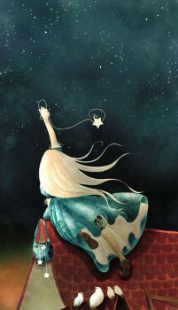 the little catcher of stars by cathydelanssay