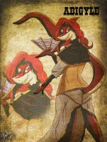 Abigyle the Victorian Sharky by The-B-Meister