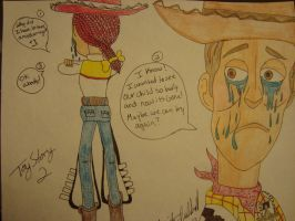 Woody and Jessie's Miscarriage Part 2 by spidyphan2
