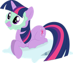 Twilight mud-face by Porygon2z