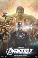 The Avengers 2 (FAN-MADE) Movie Poster by DiamondDesignHD