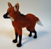Maned Wolf by Lobster-Ball