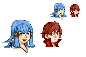 Old FFCC pixel Icons by Noctuart