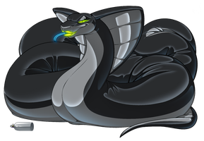Feral Balloon Cobra_near completion by wsache2020