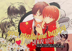 You Make me happy by Yui-chanKawaii
