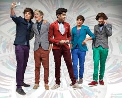 1 Direction looking colourful by inlove1D