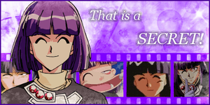 Slayers Xellos *That is a SECRET* animated banner by PPLyra
