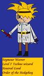 Order of the Stick Style Seymour Weever by Gatlinggundemon9