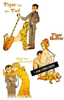 MorMor Tiger Tails by Arkham-Insanity