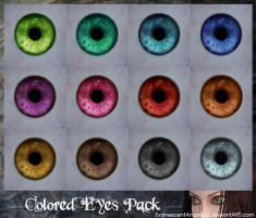 A:MR Skin - Colored Eyes Pack by EvanescentAngel666