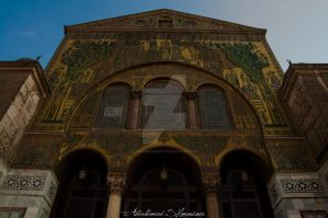 Omayyad Mosque's Frontage by ashamandour