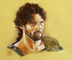 Eric Bana 3 - Hector - TROY film 2004 by dmkozicka