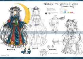 OC Selene- former body by Red-Priest-Usada