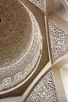 Zayed mosque interiors by amirajuli