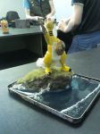 Mega Ampharos the Brave by TheDragoon86