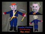 Paulie Plush with Rope Action by pirateking42