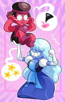 Sapphire the Strong by Starlexiom