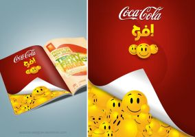 cocacola_be_happy_by_boucha by boucha-designer