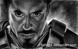 Tony Stark - Iron Man by fathil88