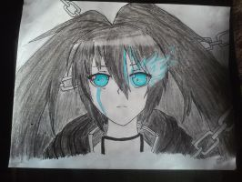 Black Rock Shooter (Done) by colourfulart82