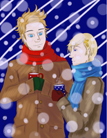 Cocoa and Snow by paarsetulpensart