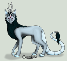 WhiteWinterWolf : Sheria by GuardianAdoptables