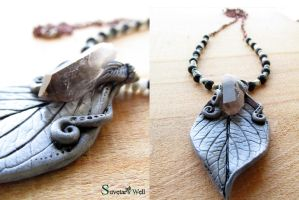 Earth Wisdom necklace by SuvetarsWell