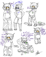 Chubzee Scribbles by Squidbiscuit