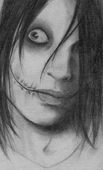 Jeff The Killer by AmeliaEerie