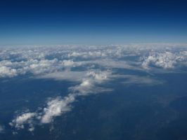 Clouds from above 3 by BlueX-pl