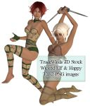 TW3D Happy and Wicked Elves by TW3DSTOCK