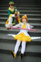 [STCC '08] Sakura and Syaoran II by rosukuma