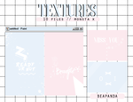 Textures 038 // (MONSTA X - THE CLAN 2.5) by BEAPANDA