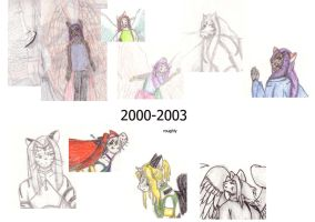 My art from 2000 by Tillette
