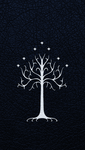 The White Tree of Gondor - iPhone 5 Wallpaper by EchoLeader