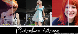 Photoshop Actions by cosmicterror