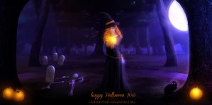 Halloween 2015 - Wallpaper by VanessaPadua